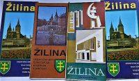 Zilina Zsolna város szlovák térkép