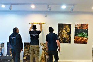 Újbuda Galéria Teszár Ákos kiállítás