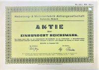 Német részvény 1926