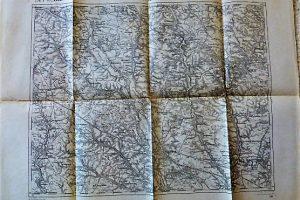 Tarnopol Ternopil Ukrajna régi térkép 1914