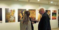 Teszár Ákos kiállítás megnyitó Újbuda Galéria