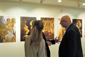 Teszár Ákos fotóművész kiállítás megnyitó Újbuda Galéria