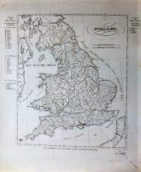 Anglia régi német térkép