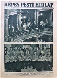 Képes Pesti Hirlap 1938 Horthy Miklós névnap