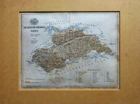 Kis-Küküllő Vármegye Térkép régi paszpartuban