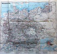 Németország birodalom térkép 1938