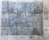 Spremberg – Sorau – Kohlfurt régi német térkép
