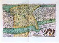 Magyarország régi térkép 1567 reprint