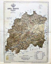 Árva Megye térkép 1893