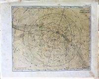 Északi félteke csillagkép régi térkép 1866