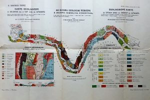 Alduna geológiai térkép 1903