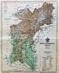 Bars Vármegye Térkép 1893