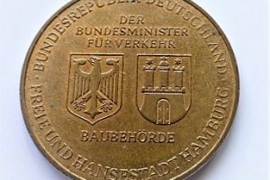 Elba alagút német emlékérem