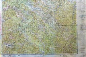 Erdély Bukovina Havasmező Seletin térkép 1944