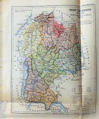 Hont Vármegye régi térkép 1920