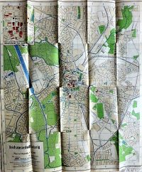 Lipcse Németország régi térkép 1941