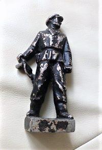 Munkásőr katona szobor