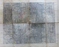 Nagykanizsa környéke régi térkép