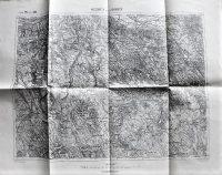Neszmély és Zsámbék környéke régi térkép 1911