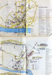 Pozsony Bratislava Szlovákia panoráma térkép