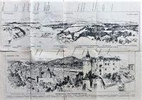 Salzburg panoráma térkép 1910