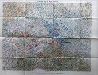 Solferino Pavia katonai térkép 1859 April 27.