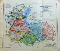 Sopron Vármegye régi térkép