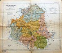 Szolnok Doboka Vármegye térkép 1915