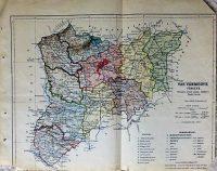 Vas Vármegye térkép régi
