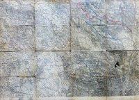Zsámbék Telki Szentendre környéke régi térkép