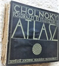 Cholnoky Földrajzi Statisztikai Atlasz 1929