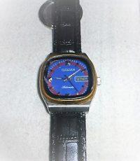 Citizen automata óra kék számlap