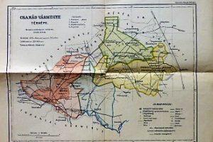 Csanád Vármegye térkép 1923