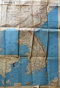 Korea térkép 1947