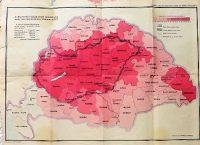 Magyarország magyarság százalékos megoszlása térkép