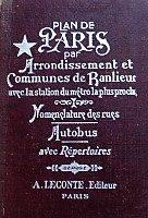 Párizs atlasz térképekkel