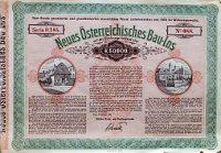 Régi osztrák sorsjegy nyereményszelvény 1923