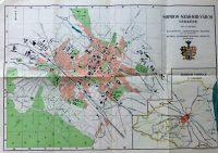 Sopron Szab.Kir.Város térkép 1920-as évek