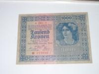 Osztrák papírpénz: 1.000 Korona