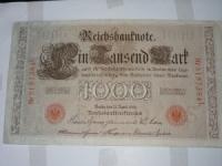 Német papírpénz: 1.000 Márka (1922)