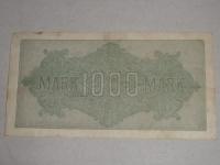 Német papírpénz: 1000 Márka (1922)