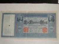 Német papírpénz: 100 Márka (1910)
