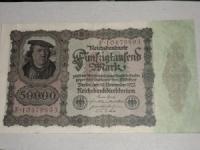 Német papírpénz: 50.000 Márka (1922)