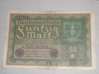 Német papírpénz: 50 Márka (1919)