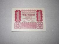 Osztrák papírpénz: 1 Korona 1922