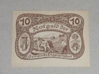 Osztrák Notgeld: Erderwitzdorf Notgeld 10 Heller 1920