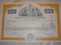 First Chicago Corporation részvény USA