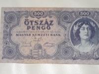 Magyar papírpénz: 500 pengő