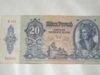 Magyar papírpénz: 20 Pengő (1941)