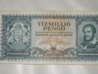 Magyar papírpénz: Tízmillió pengő (1945)